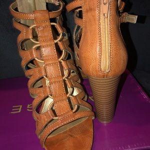 Rampage Shoes - Rampage chunk heels